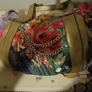 Kathy Van Zeeland Spring/Summer Purse Floral